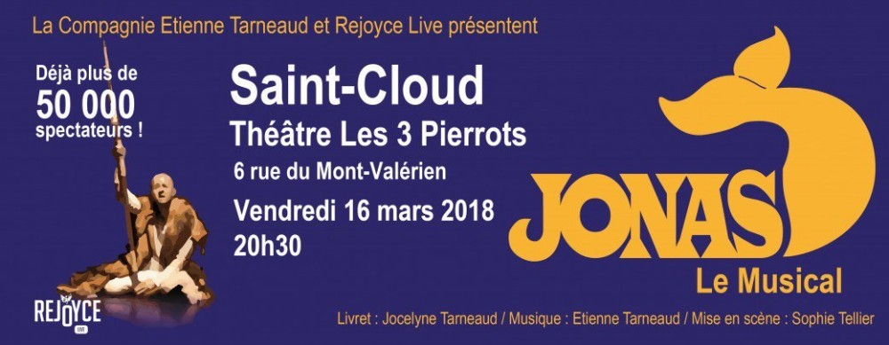 JONAS LE MUSICAL @ Saint Cloud
